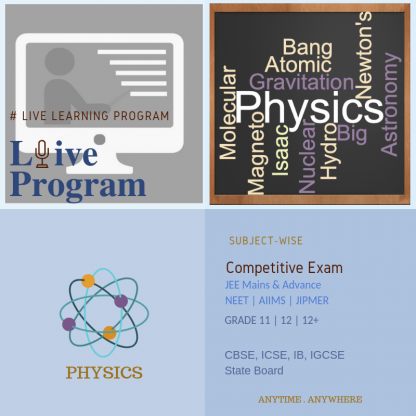 Subject-wise Physics Course