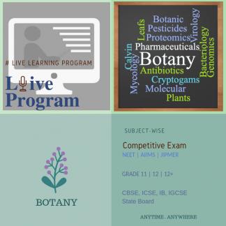 Botany Subject