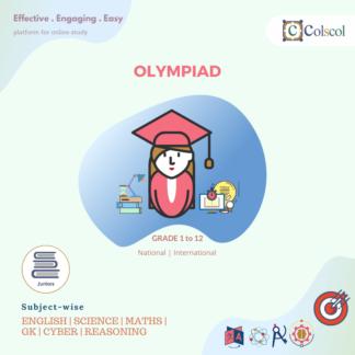 Junior Competitive Exam Olympiad for Grade 1 to Grade 12
